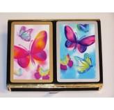 Bridge - Congress Butterfly Delight, double pack, velour