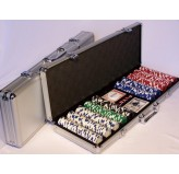 Casino Chips &Accessories - Poker chips 500pc aluminium att case 11.5gm