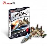 """Cubic Fun - 3D Puzzle: """"Super Military - Air Strike 2 Sukhoi SH-35"""""""