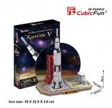 """Cubic Fun - 3D Puzzle: """"Saturn V"""""""