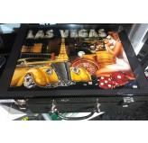Dal Rossi Italy Las Vegas att - case 500 Chips 11.5grms
