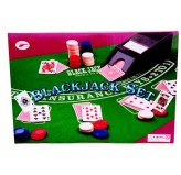 Roulette Set - Blackjack set, deluxe, boxed