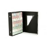Dominoes - Double twelve, vinyl case