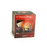Bingo Sets - Bingo, deluxe set, metal cage, 75 balls 6'