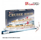 "Cubic Fun - 3D Puzzle: ""Cruise Ship"""