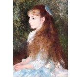 1000pc Jigsaw - Girl Elaine (Made From High Quality European Blue Board)