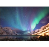 1000pc Jigsaw - Aurora Borealis (Made From High Quality European Blue Board)