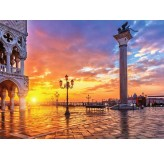 1000pc Jigsaw - Piazza San Marco (Made From High Quality European Blue Board)