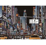 1000pc Jigsaw - New York Times Square (Made From High Quality European Blue Board))