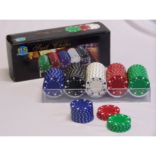 Poker chip accessories