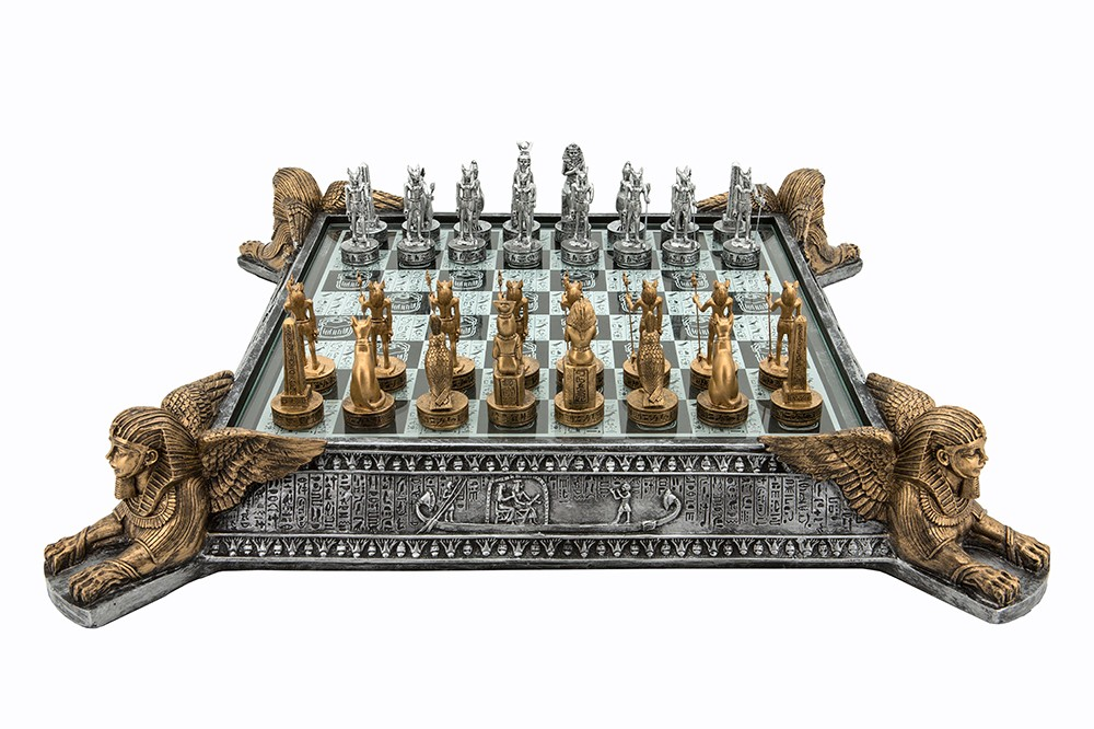 Dal Rossi Italy Egyptian Chess Set