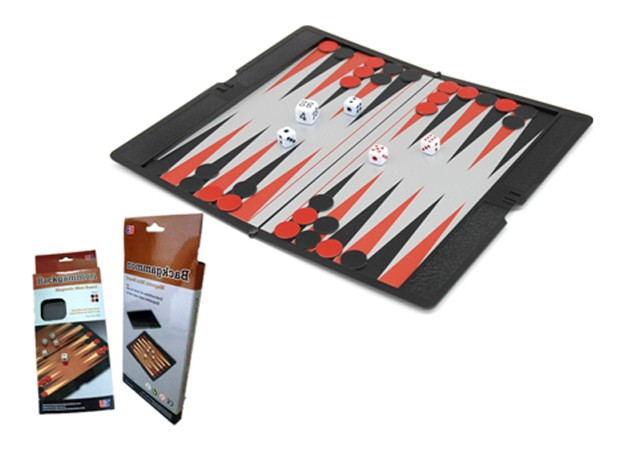 "Magnetic Games - Backgammon 6.5"" Wallet Series"