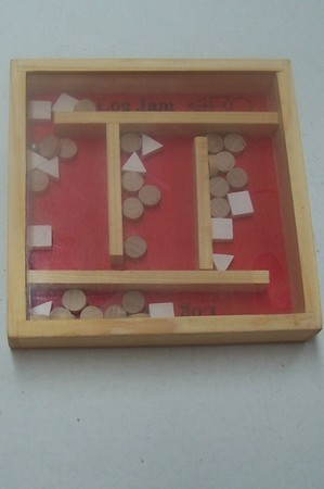 Miscellaneous Games - Log Jam, wooden