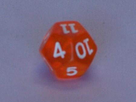 Dice - 12 Side Dice Transparent