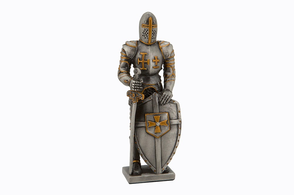 Dal Rossi Pewter MEDIEVAL WARRIOR - SWORD IN RIGHT