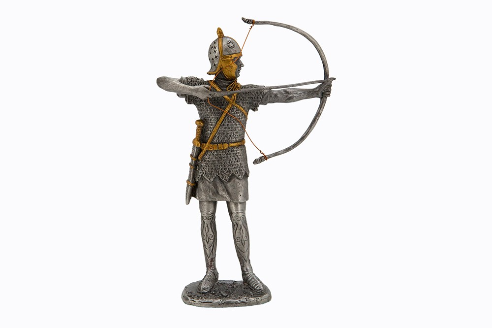Dal Rossi Pewter ROMAN MIDDLE ANCIENT WARRIOR - STANDING &