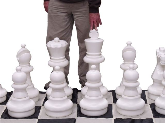 Giant Chess Pieces 60cm PIECES ONLY
