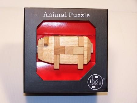 Le Mi Arts Series - Animal Puzzle-Pig