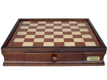 """Dal Rossi Italy, Chess Box with drawers 16"""" YOU CAN ADD ANY PIECES TO MAKE THIS INTO A CHESS SET"""