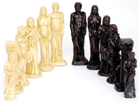 Dal Rossi Italy, Gods of Mythology Chessmen