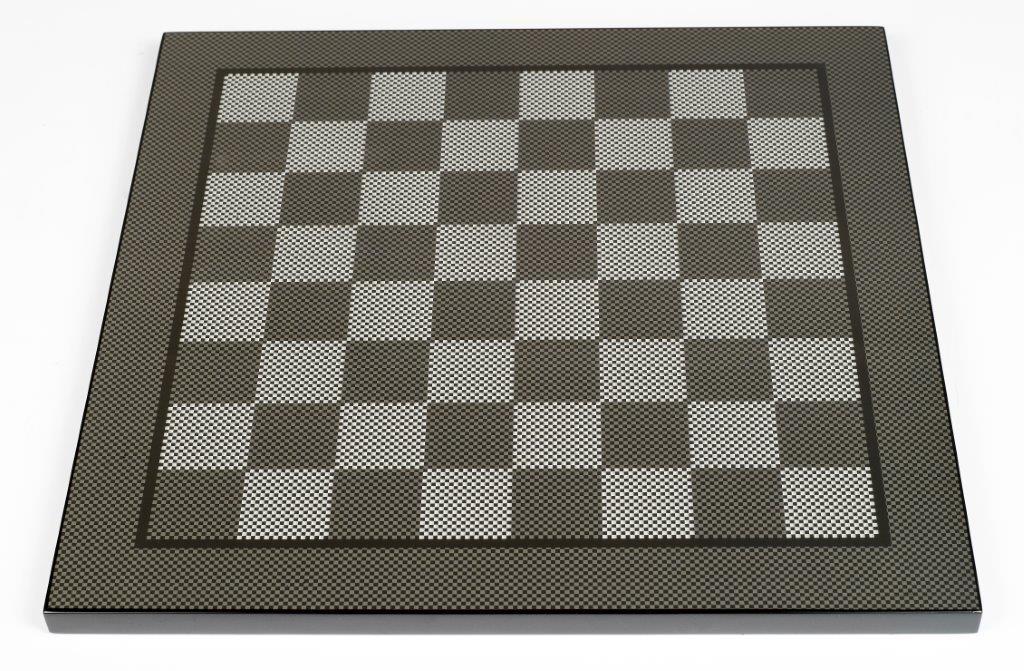Dal Rossi , Carbon Fibre 50cm Chess Board