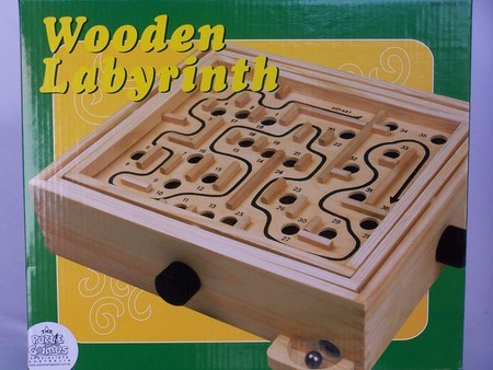 Labyrinth, 36 hole,wood, 11