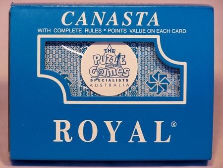 aPlaying Cards - Royal Canasta