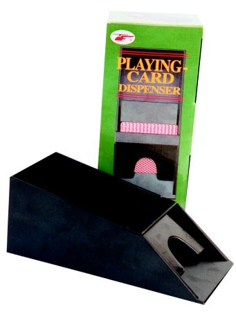 Card Shufflers & Dealer Shoe - Dealer shoe, PVC