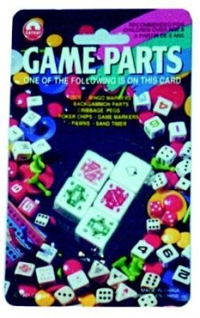 Dice, poker set, carded