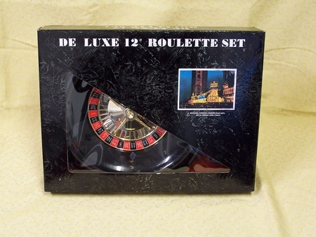 "Roulette & Blackjack - Roulette set, deluxe, boxed, 12"""