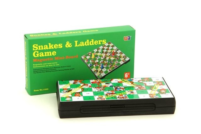 """Magnetic Games - Snakes & Ladders 7"""""""
