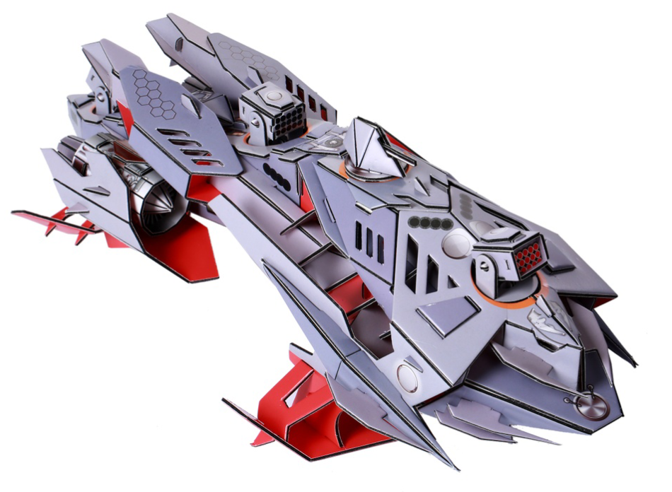 """3D Puzzles: """"HYDROFOIL SHARK ATTACK SHIPS"""""""