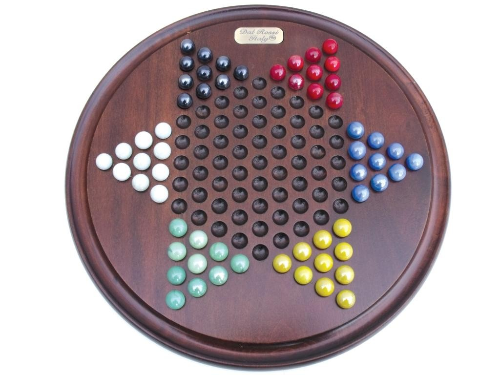 """Dal Rossi Italy - Dal Rossi Chinese Checkers 15"""""""