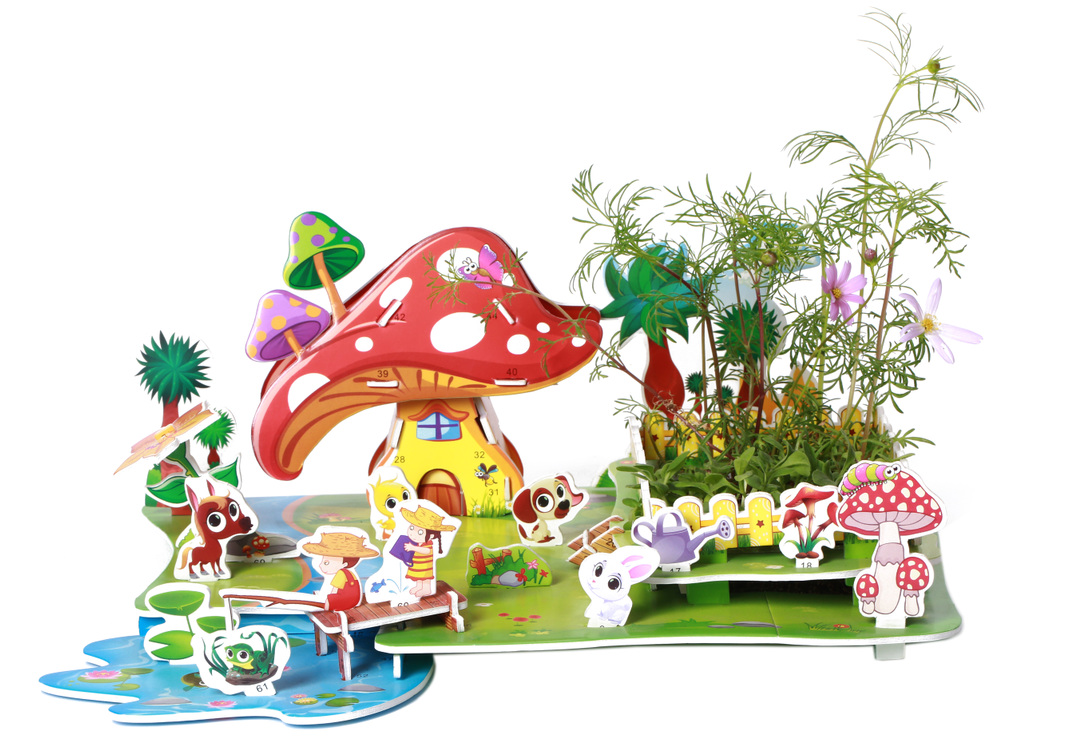 """3D Puzzles: """"RURAL SCENERY"""""""