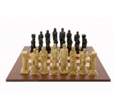 Dal Rossi Italy Gods Of Mythology Chess Set on a 50cm Board