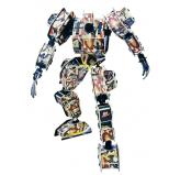 """3D Puzzles: """"ROBOT 2"""""""