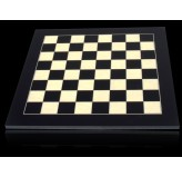 Dal Rossi Chess board, Black / Erable 50cm Chess Board