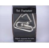 Tri Twister Chrome Puzzle