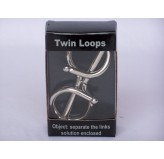 Twin Loops Chrome Puzzle