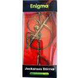 Enigma Metal Puzzles - Jackaroos Stirrup on a Metal Stand