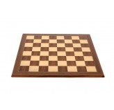 Chess board, economy, walnut, 50cm