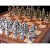 Dal Rossi Italy, Dragon, Pewter Chessmen ONLY
