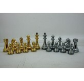 Dal Rossi Italy Gold and Silver Weighted Chess Pieces 110mm Chess Pieces ONLY