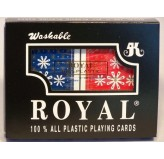 Playing Cards - Royal 100% plastic, double pack