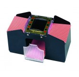 Card Shufflers & Dealer Shoe - Card shuffler, battery operated 2 Deck