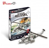 "Cubic Fun - 3D Puzzle: ""Super Military - Air Strike 1 Huey Cobra"""