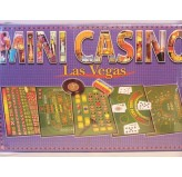 Roulette & Blackjack - Mini Casino Set, Cardboard Box