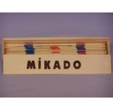 Miscellaneous Games - Mikado, pick up sticks, wood box