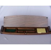 Desk Accessories - Multi tidy with memo pad, walnut