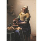 Enigma Brand 1000pc Jigsaw - The Milkmaid (Made From High Quality European Blue Board)